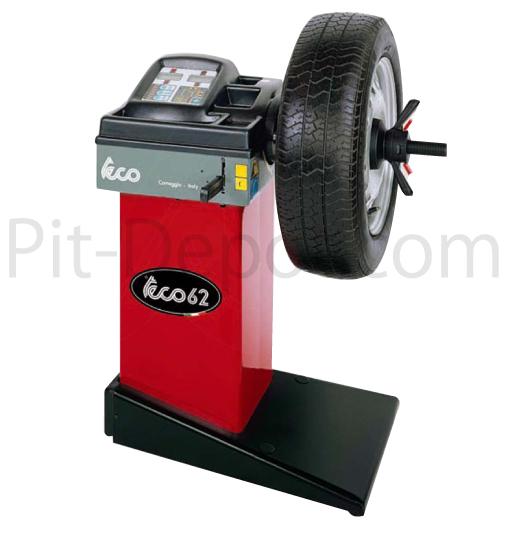 【TECO】イタリア製 イタリア製 teco社 コンパクトホイールバランサー(4輪用) TECO62[TECO62]